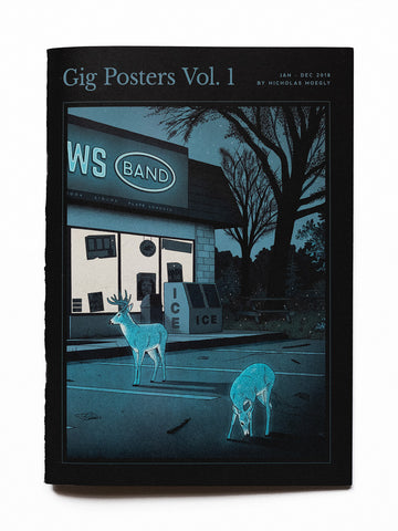 Gig Posters Vol. 1 Zine - Ed. 1