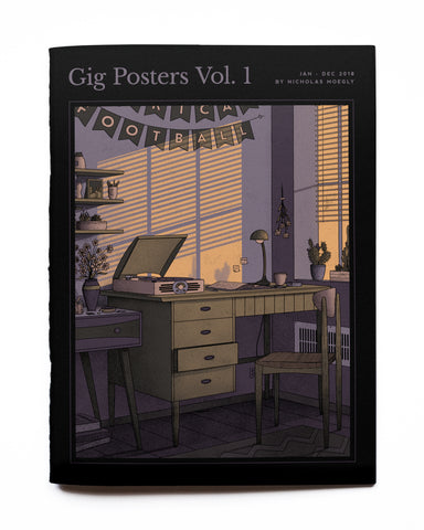 Gig Posters Vol. 1 Zine - Ed. 2