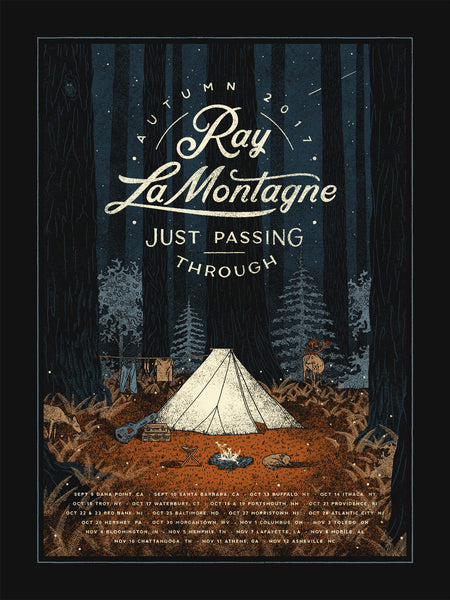 Ray LaMontagne - Just Passing Through 2017