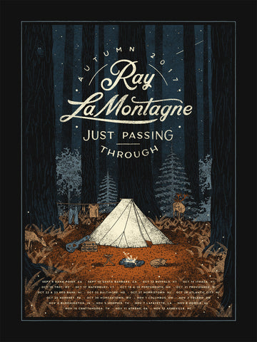 Ray LaMontagne - Just Passing Through