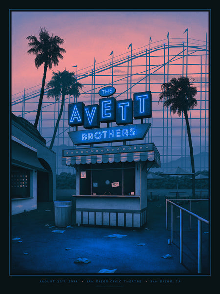 The Avett Brothers - San Diego, CA