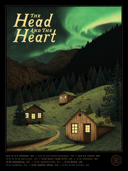 The Head and the Heart - Sept. Tour