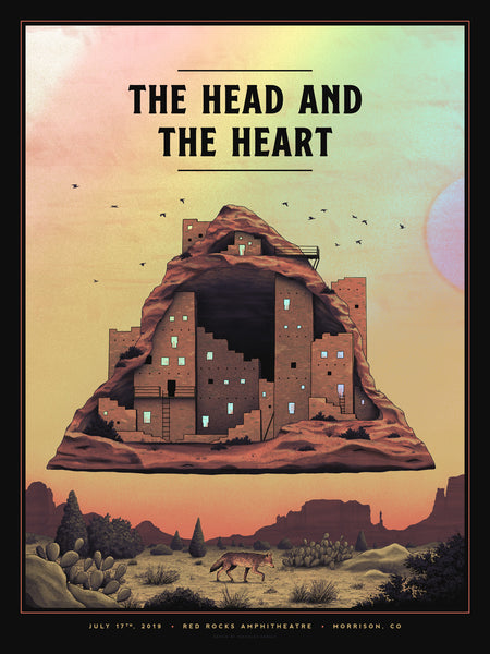 The Head and the Heart - Red Rocks Night 1