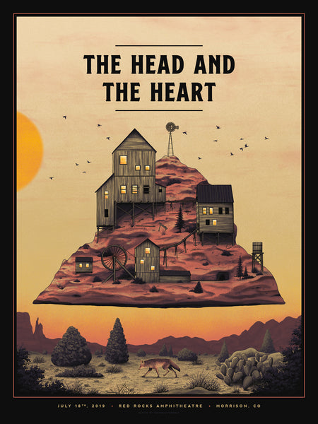 The Head and the Heart - Red Rocks Night 2