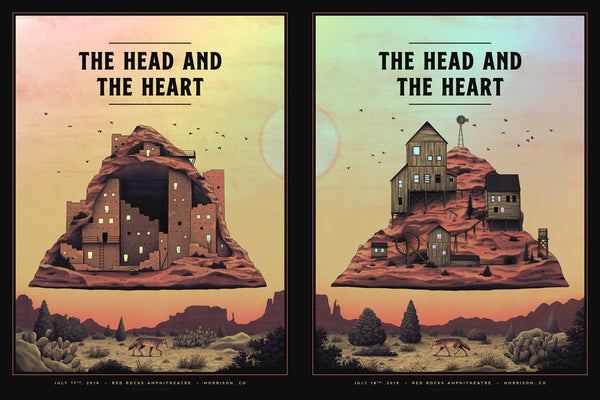 The Head and the Heart - Red Rocks Uncut