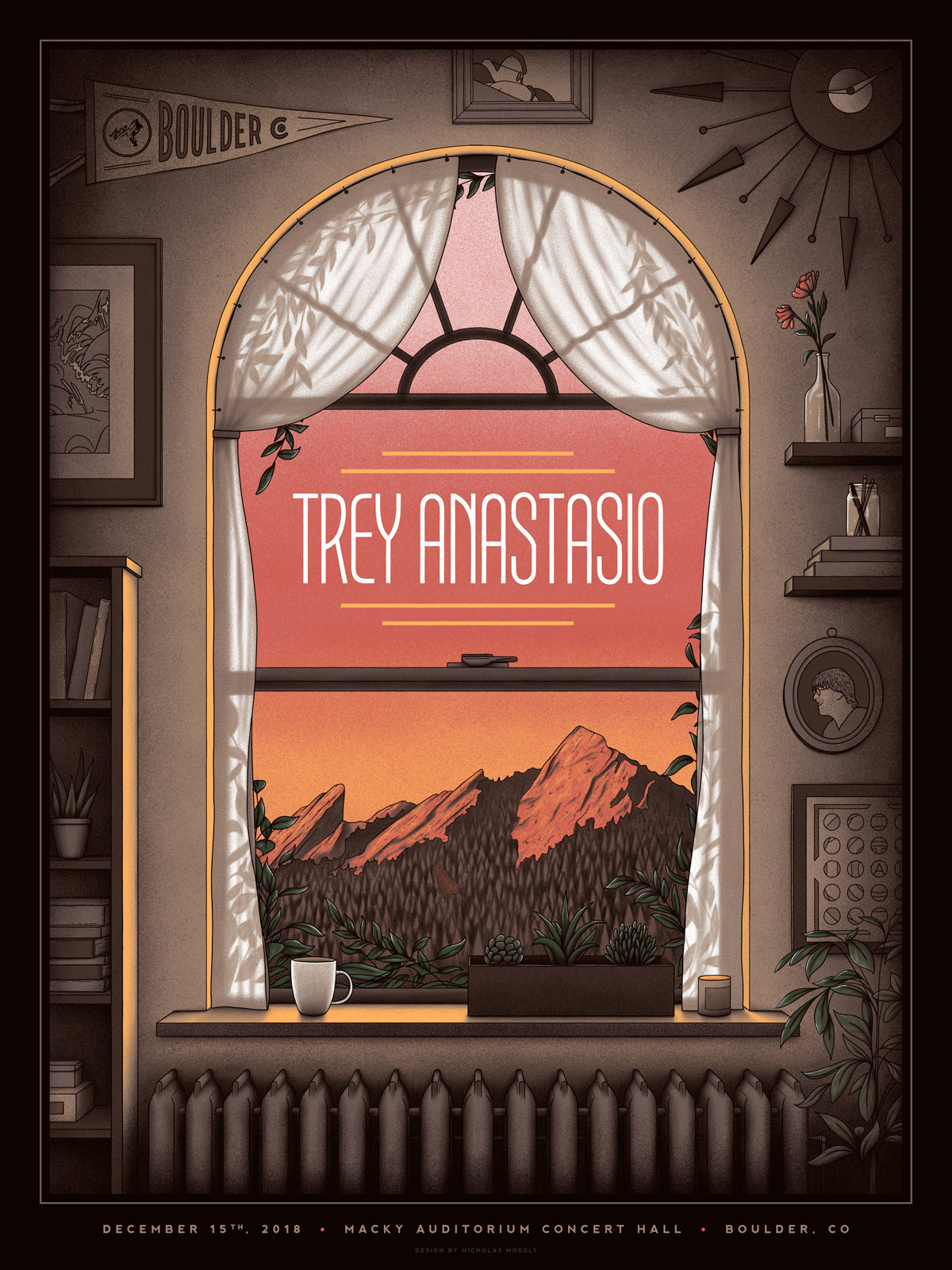 Trey Anastasio - Boulder, CO - Dec. 15th