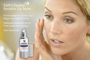 Earth's Daughter Revitalize Eye Serum with Matrixyl, Haloxyl, and Swiss Apple Stem Cells, 1 Fl oz.