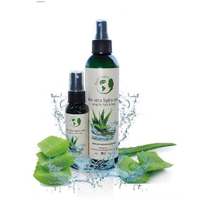 Organic Aloe Vera Spray. 8oz Bottle Plus 2oz Travel Size