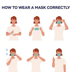 Face Masks – Disposable Mask – Pack of 50