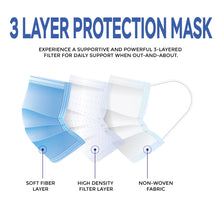 Load image into Gallery viewer, Face Masks – Disposable Mask – Pack of 50