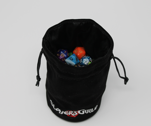 Velvet and Satin Dice Bag for RPG Like D&D (4) - Slayers Guild