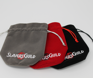 Velvet and Satin Dice Bag for RPG Like D&D (5) - Slayers Guild