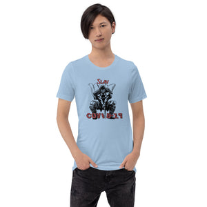 Slay COVID-19 Short-Sleeve Unisex T-Shirt - For all adult adventurers