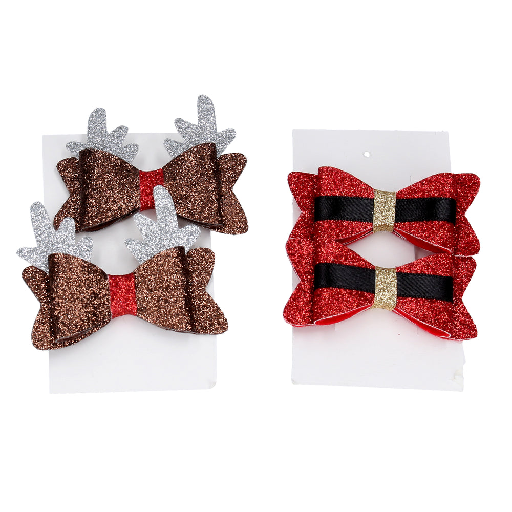 Christmas Hair Clips