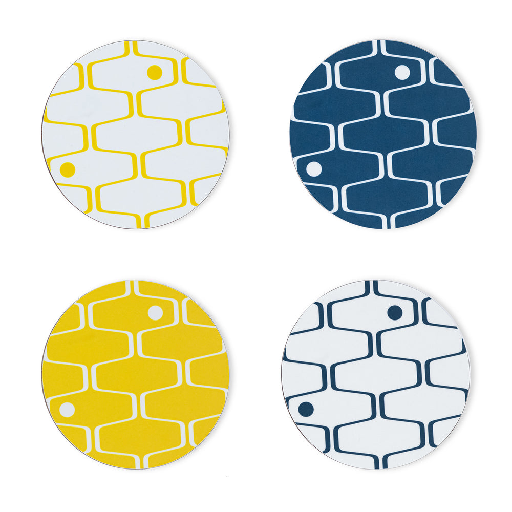 Net & Ball Coasters & Placemats