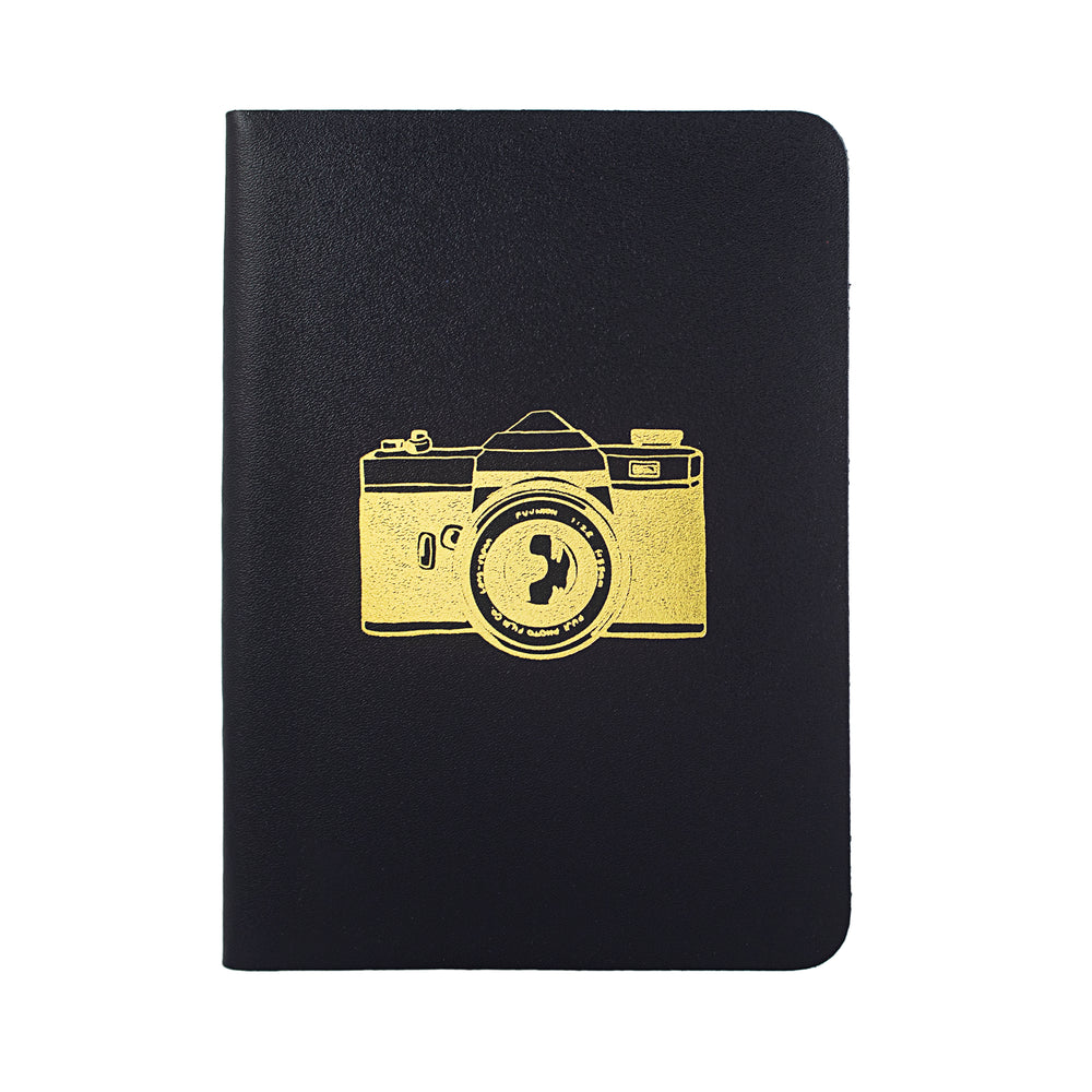 Camera Black Notebook