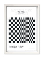 Bridget Riley Poster - Movement in Squares