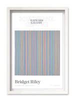 Bridget Riley Poster - Paean