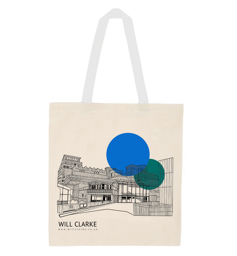 Hayward Gallery Tote Bag by Will Clarke