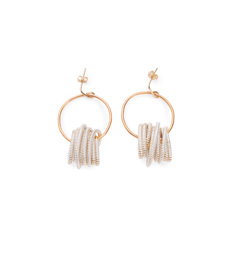 Neptune Hoop Earrings