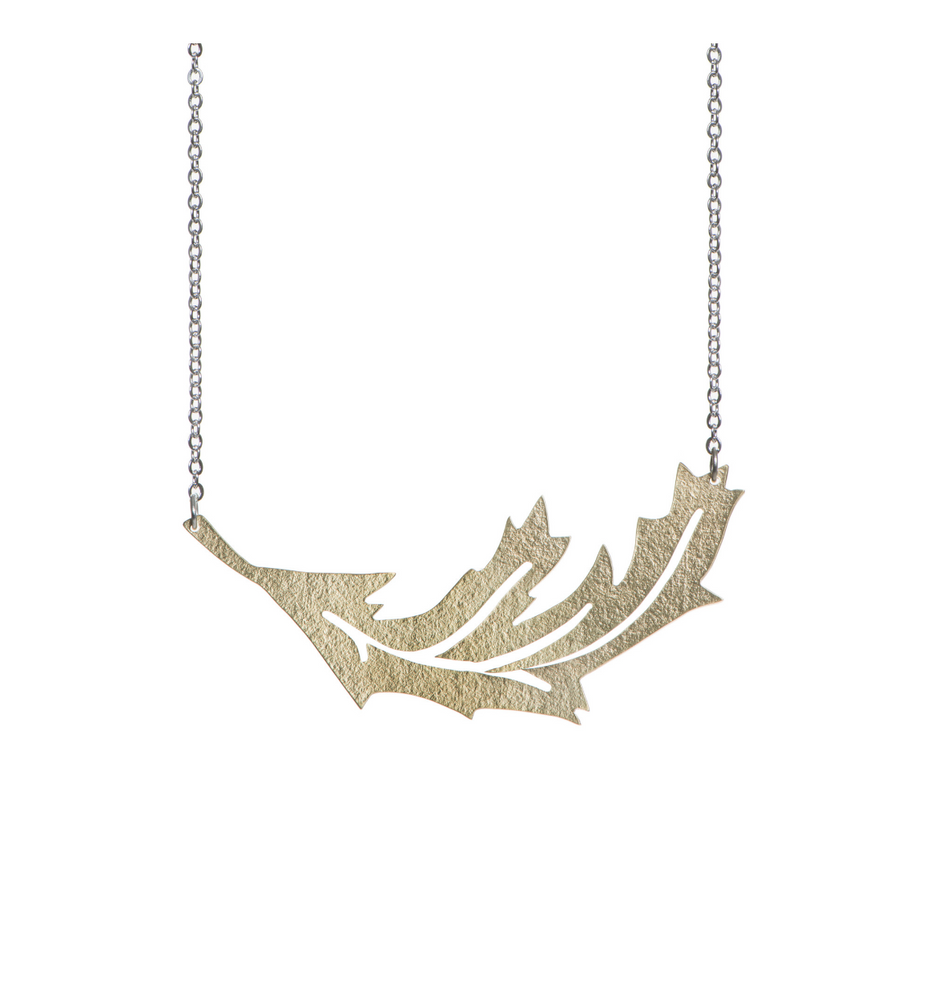Falling Leaf Necklace