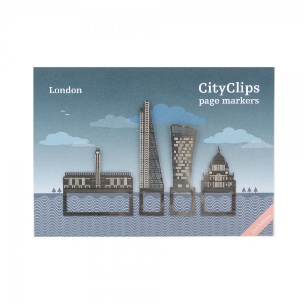 London City Skyline Bookmarks