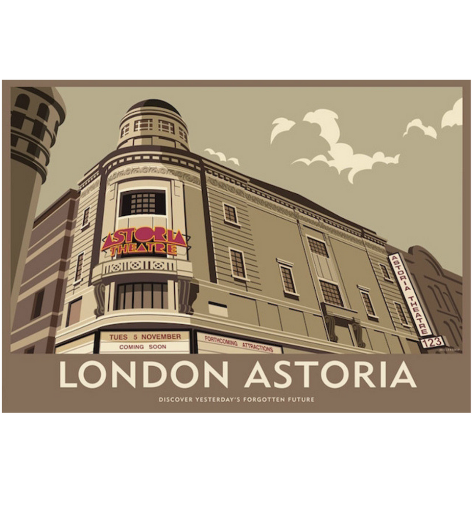 London Astoria Print