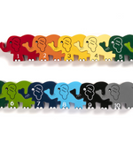 Elephant Row Number Puzzle