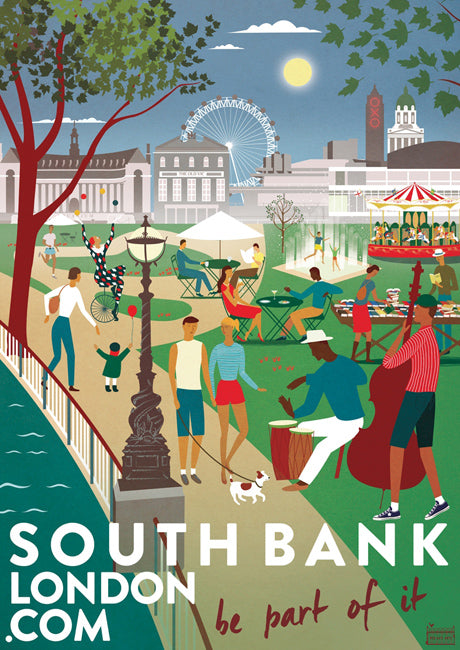 Southbank Be Part of it Poster