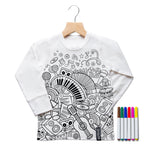 Music Colour In T-Shirt