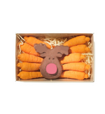 Chocolate Reindeer with Carrots