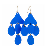 Medusa Blue Earrings
