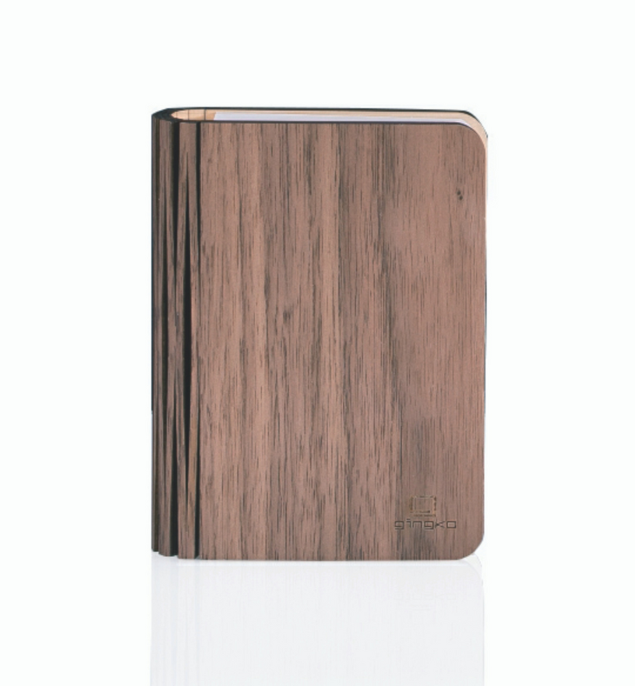 Mini Walnut Smart Book Light