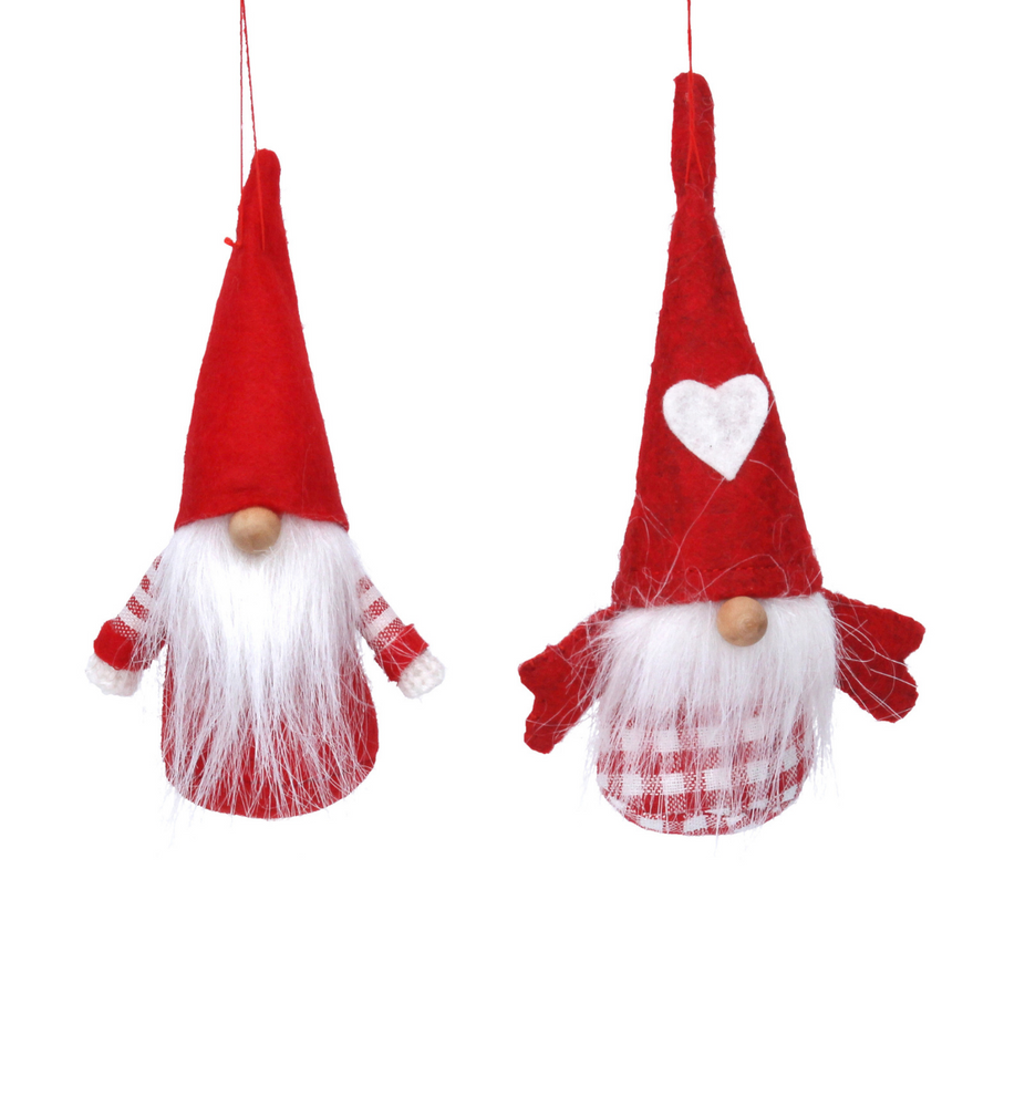 Nordic Santa Christmas Tree Decoration