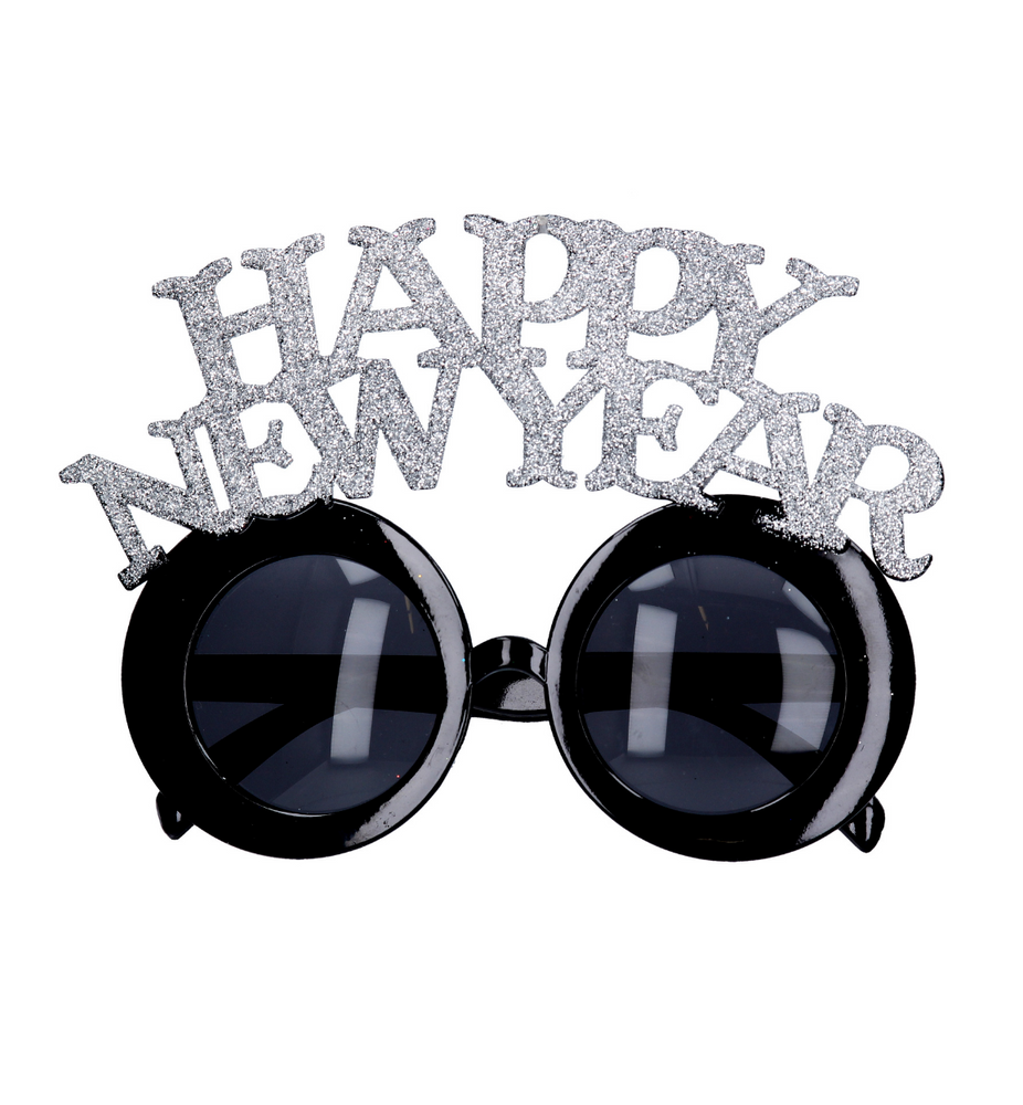Happy New Year Glasses