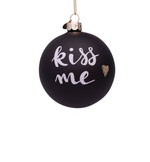 Kiss Me Bauble