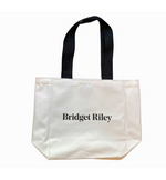 Bridget Riley Canvas Tote Bag