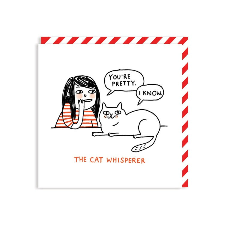 Cat Whisperer Card