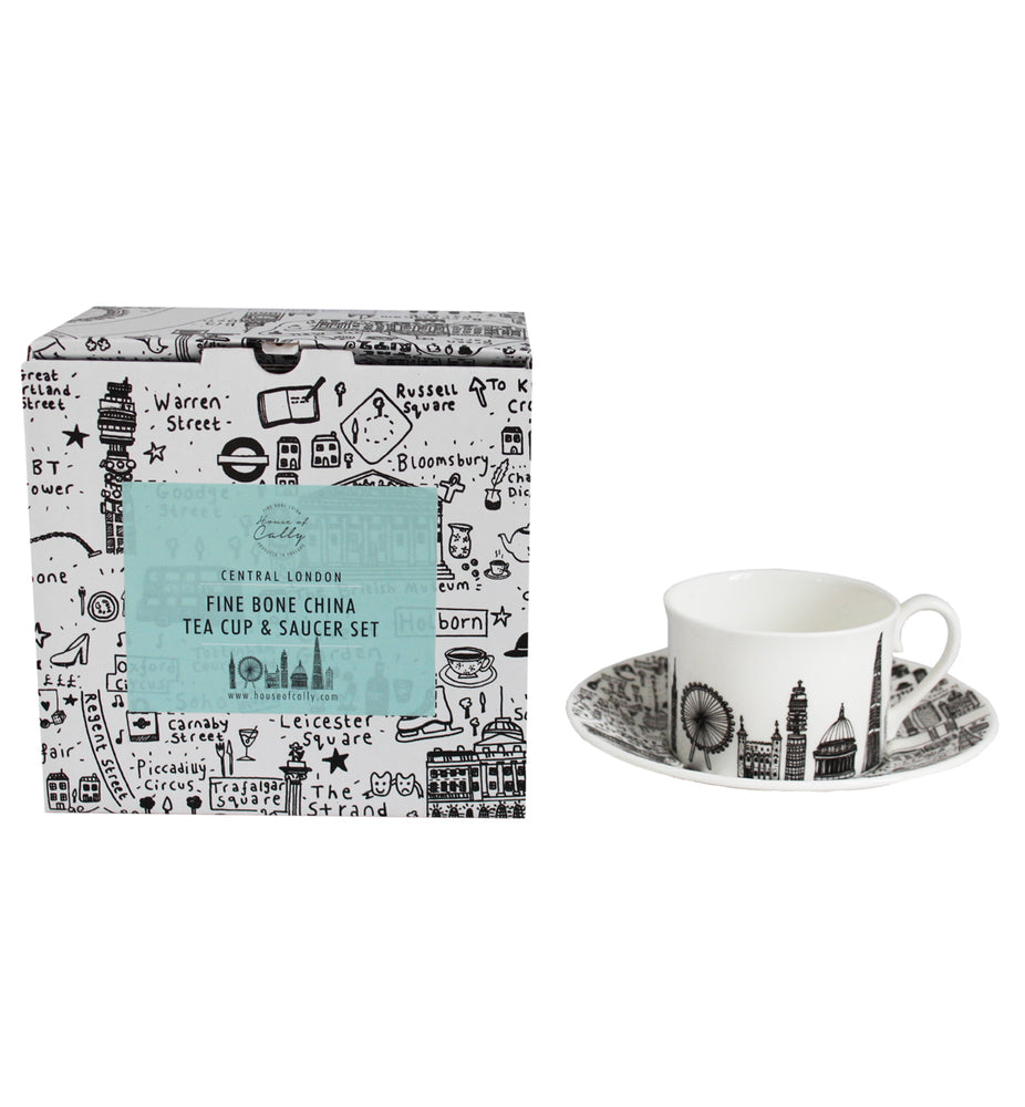 Central London Tea Set