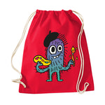 Imagine Hairy Artist Drawstring Bag