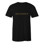Meltdown Gold Logo T-Shirt