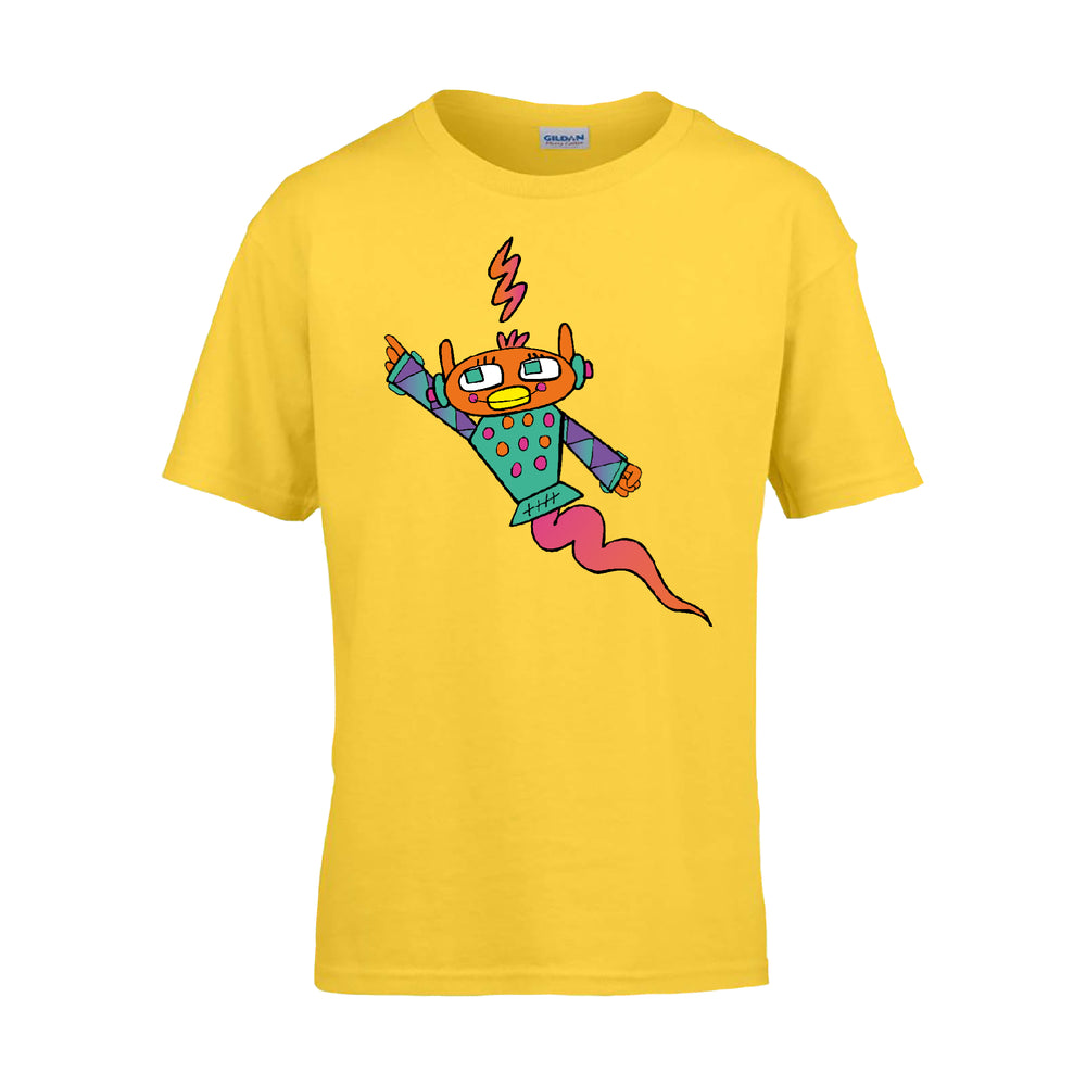 Imagine Monkey Robot T-Shirt