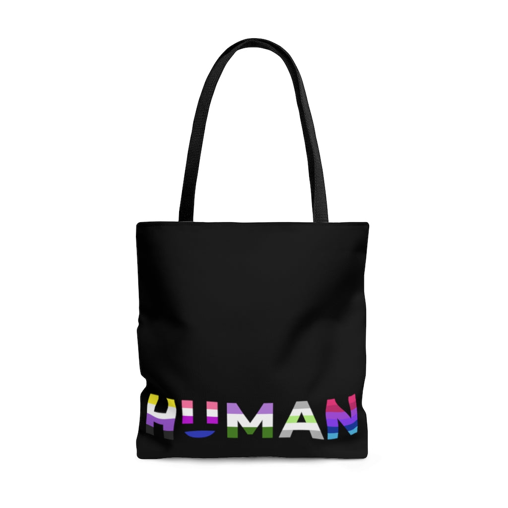 Shopping Tote - Power of Pride Collection (Non-Binary, Genderfluid, Genderqueer, Agender, Androgyne)