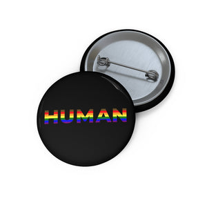 HUMAN Button - Power of Pride Collection (LGBTQIA+ POC / Philly Pride Flag)