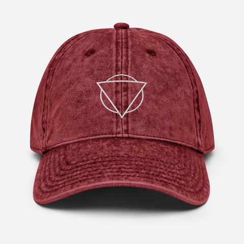 "Unclockable ""Dad Hat"" in Washed Out Denim"