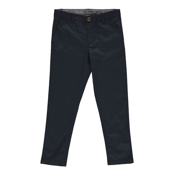 Harry Chinos Marine blue twill