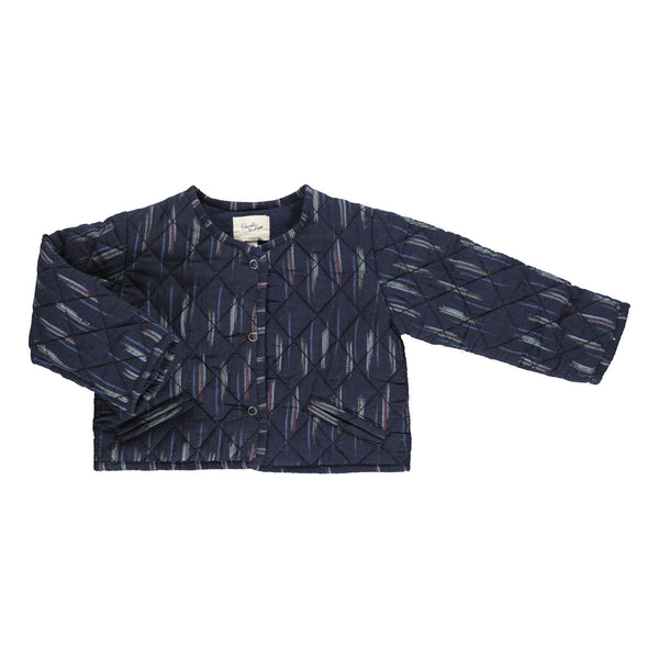 Kismet jacket dark blue ikat