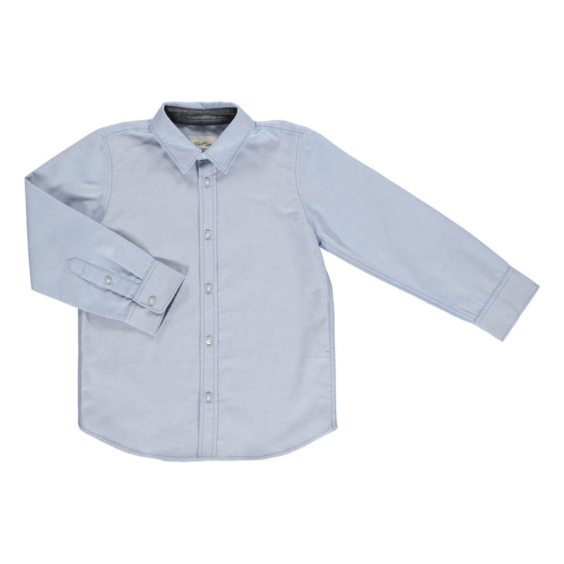 Patrick oxford shirt light blue chambray