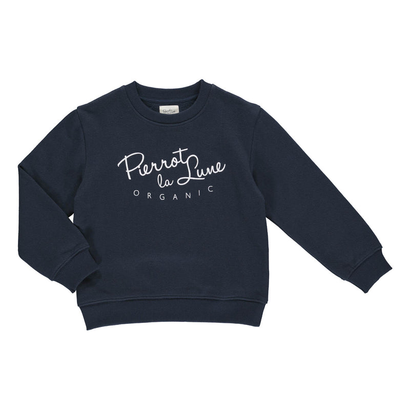 Pierrot sweatshirt marineblå