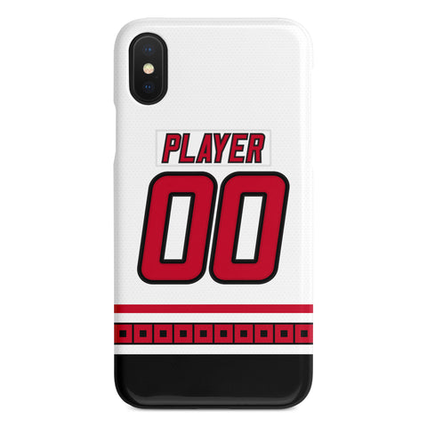 Carolina Hurricanes 00-07 Away Jersey Phone Case